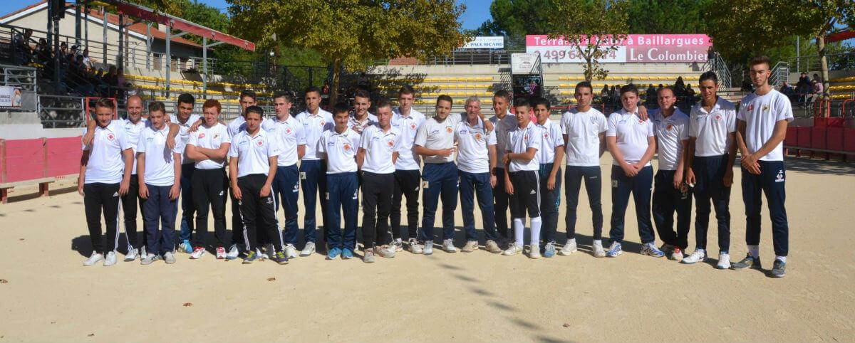 Groupe 2015 raseteurs baillargues