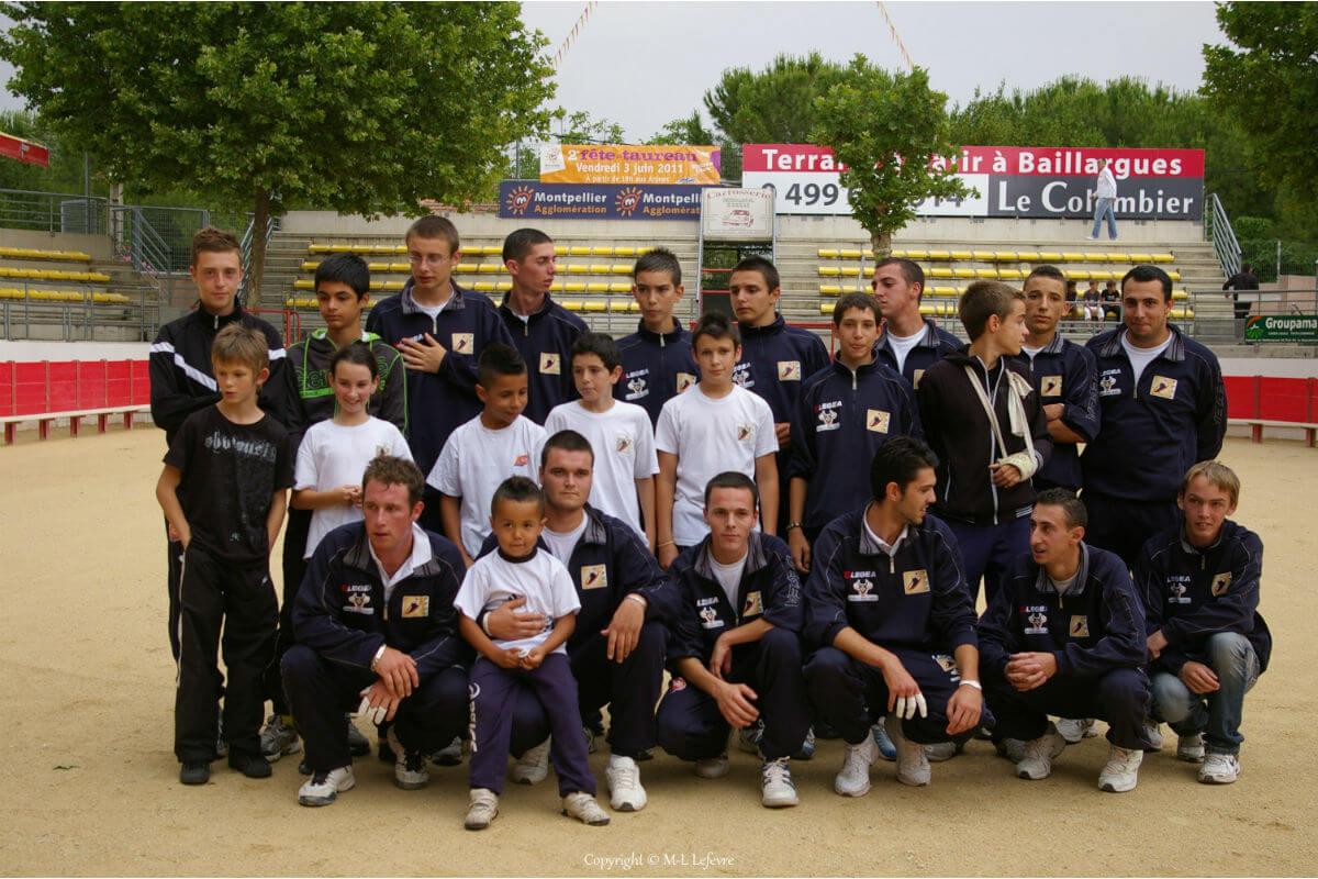 Groupe 2011 raseteurs baillargues