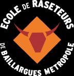 L'école de raseteurs de Baillargues Métropole Logo