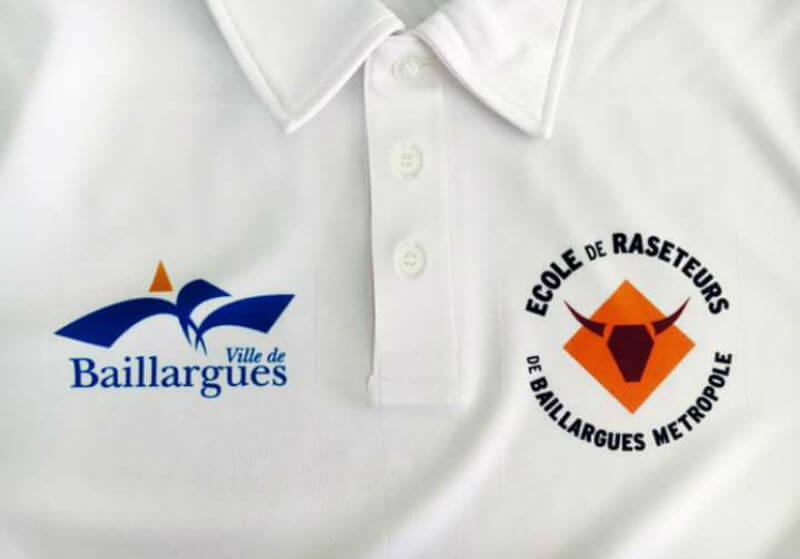 ecole raseteurs baillargues polo officiel
